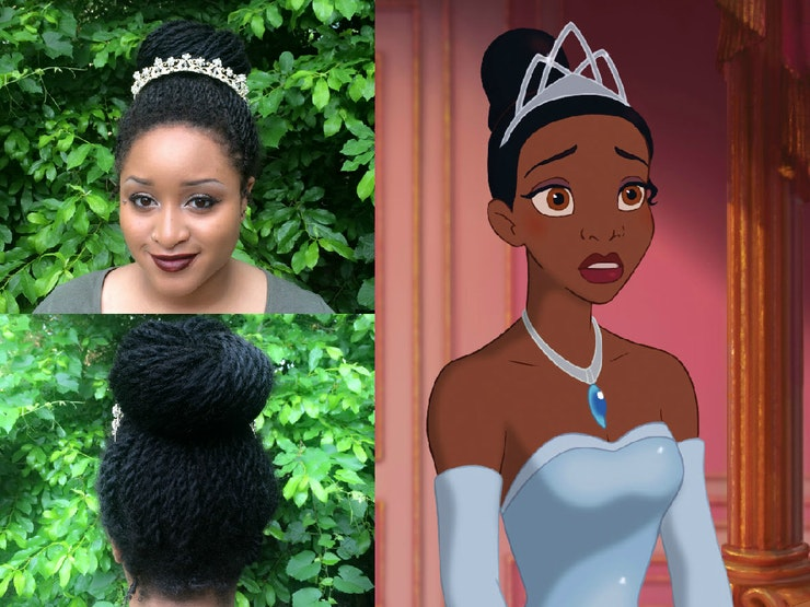Miraculous I Recreated Disney Princess Hairstyles With Senegalese Twists Short Hairstyles Gunalazisus