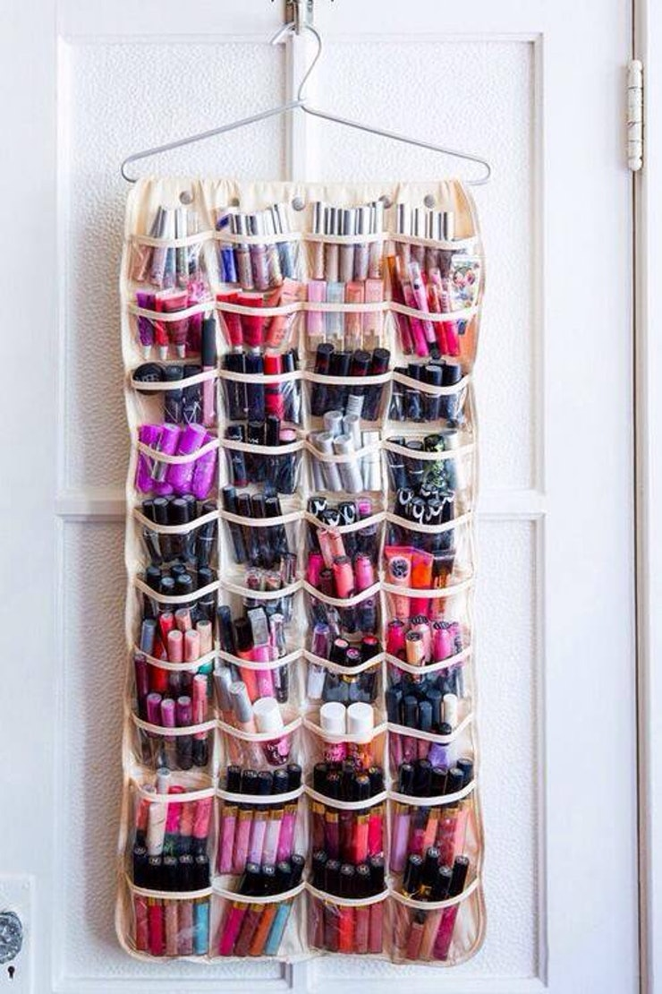 vanity makeup organizer ideas. SHOE ORGANIZER 14 DIY Makeup Organizer Ideas That Are So Much Prettier Than Those