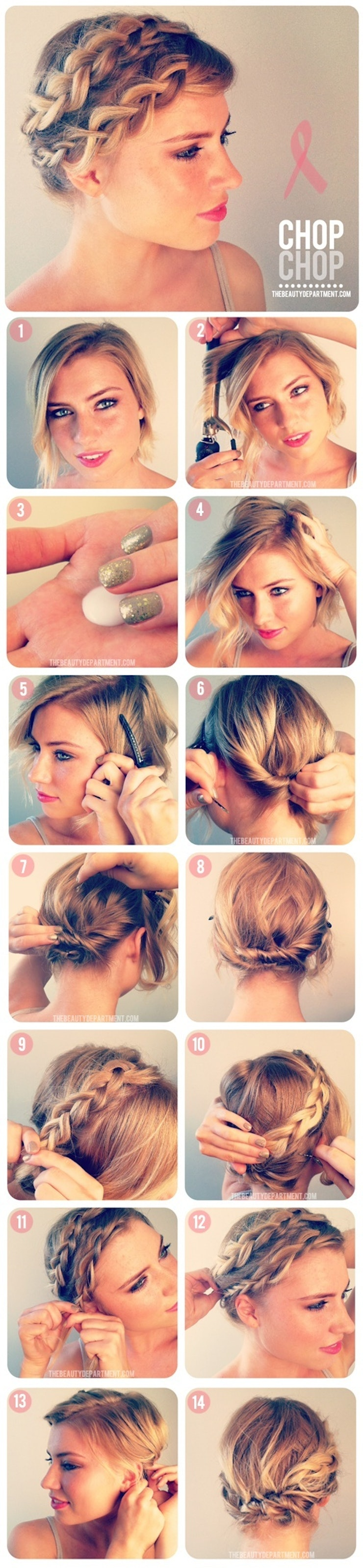 Can't Style Your Hair Into A Gorgeous Plait Check Out This Incredible  Stepbystep Braid Tutorial For Short Haired Girls From The Beauty  Department