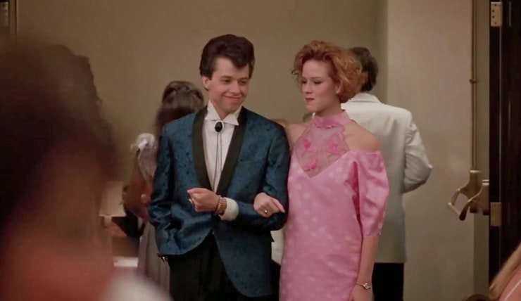 How Molly Ringwald's 'Pretty In Pink' Prom Dress Was Really Made ...