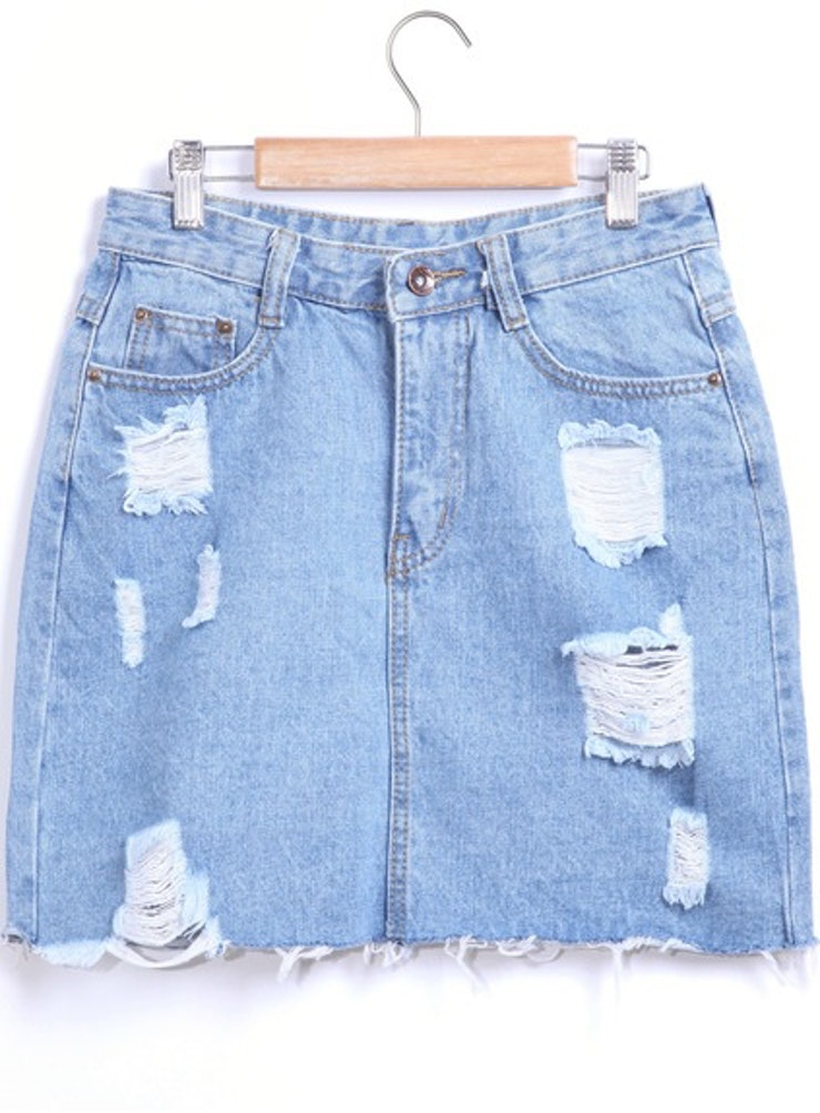 11 Denim Skirts That Are So '90s You'll Feel Like You're In An ...